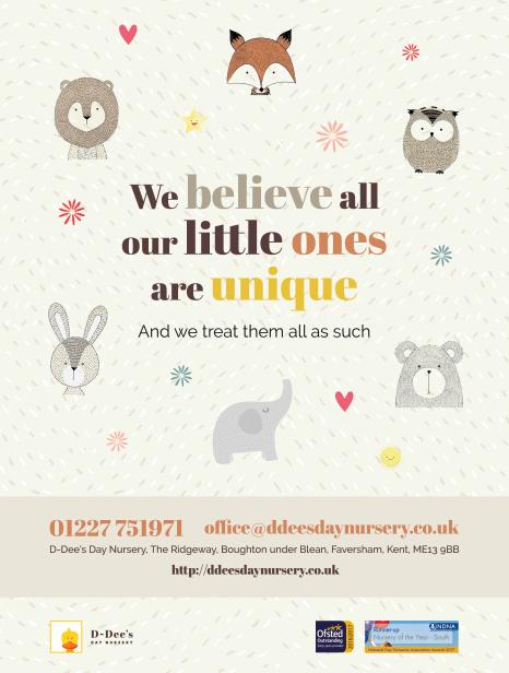 D-Dee's Day Nursery Leaflet