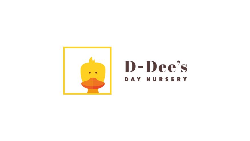 D-Dee's Day Nursery Logo - Full colour version