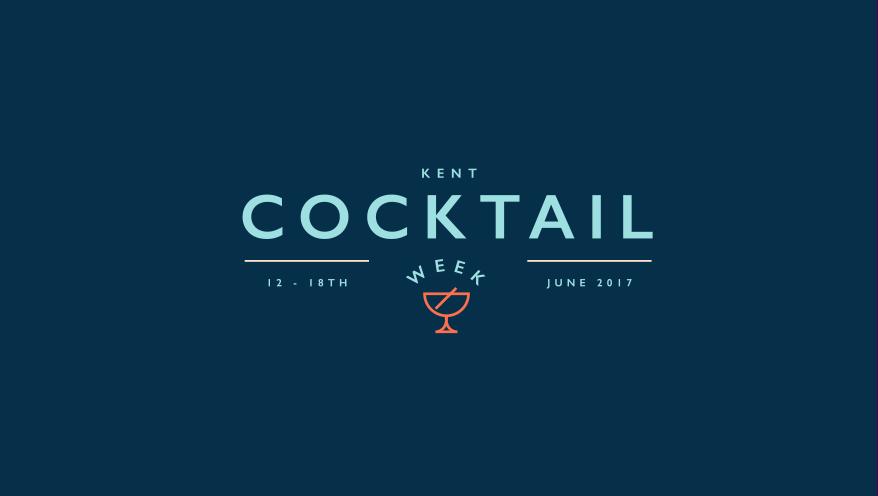 Kent Cocktail Week logo.