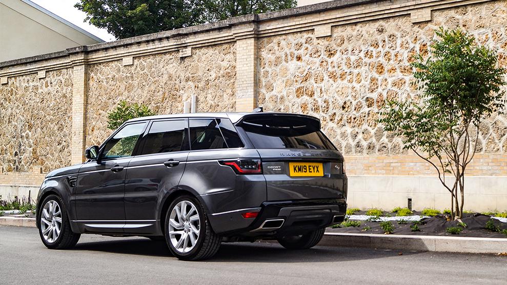 Range Rover Sport in France