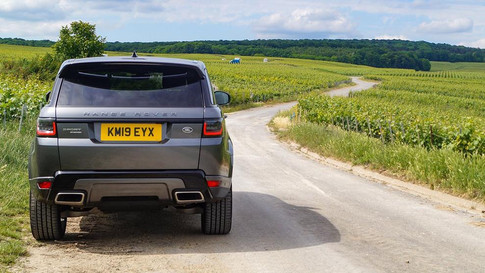 Sixt Range Rover Sport